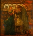 Rossetti Tristram and La Belle Yseult Drinking the Love Potion