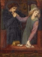 Rossetti_HAMLET AND OPHELIA2